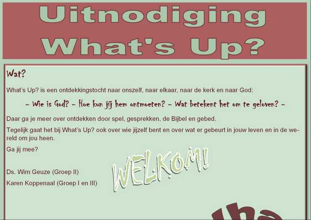 What's Up 2018 pagina02